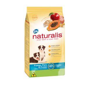 Concentrado-para-perro-NATURALIS-Cachorros-Todas-las-Razas-Pollo---Frutas---15kg