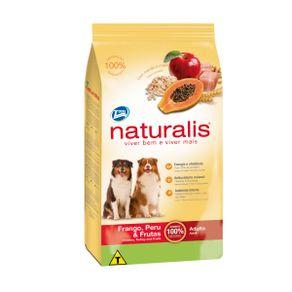 Concentrado-para-perro-NATURALIS-Adultos-Todas-las-Razas-Pollo---Frutas---15kg