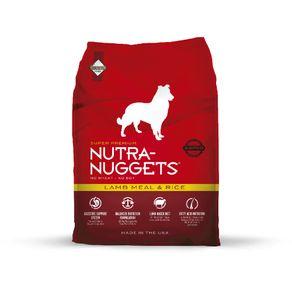 Concentrado-para-perro-meal---RiceNutra-Nuggets-Adultos-Todas-las-Razas-Cordero---3kg