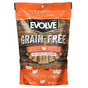 Snacks-para-perro-GRAIN-FREE-JERKY-PAVO-EVOLVE--Pavo---340gr