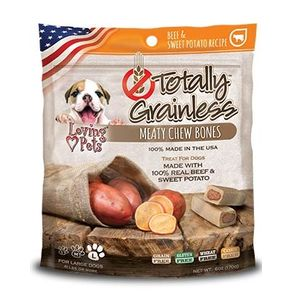 Snacks-para-perro-TOTALLY-GRAINLESS-CARNE-Y-PAPA-DULCE-MEDIUM-TOTALLY-GRAINLESS-Raza-Mediana-Carne----6oz