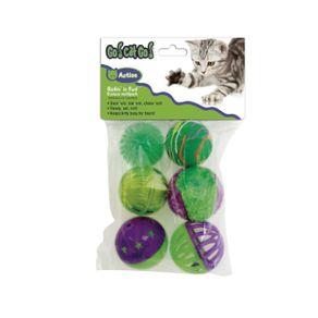 Juguetes-para-gato-Pelota-Surtida-X-6-Go-Cat-Go-