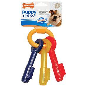 Juguetes-para-perro-Puppy-Chew-Llaves-X-Small-Tocino-Nylabone-Cachorros-
