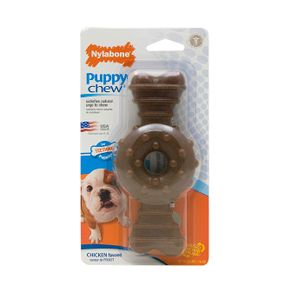 Juguetes-para-perro-Puppy-Chew-Hueso-Ring-Wolf-Pollo-Nylabone-Cachorros-