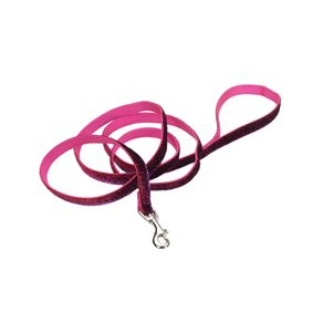 Collares-para-perro-Brillante-Rosado-Correa-Medium-5-8--Coastal-Pet-