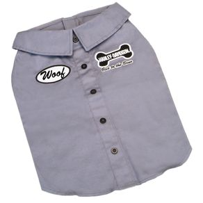 Apariencia-para-perro-Camiseta-Polo-Gris-Small-Harley-Davidson-