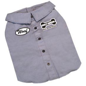 Apariencia-para-perro-Camiseta-Polo-Gris-Medium-Harley-Davidson-