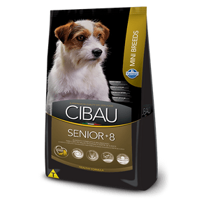 Alimento-para-perro-SENIOR-MINI-BREED-CIBAU-Adultos-Mayores-Raza-Pequena-Pollo-3kg