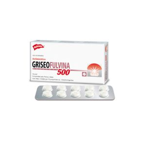 Antimicotico-Griseofulvina-500Mg-20Comp-Holliday