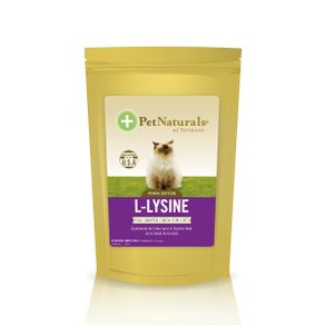 Nutraceutico-F-L-Lysine-Fish-Shaped-Chews-60-Tab-Pet-Naturals