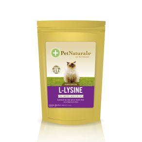 Nutraceutico-F-L-Lysine-Fish-Shaped-Chews-60-Tab-Pet-Naturals