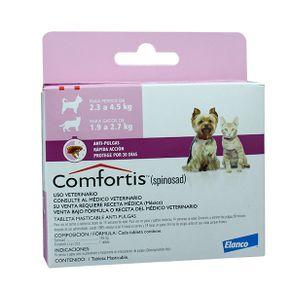 Antiparasitarios-Externos-Comfortis-Perros-De-23-45-Kilos---Gatos-De-19-27-Kilos-Elanco
