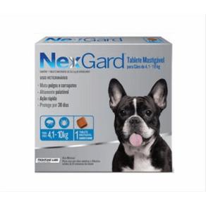 Antiparasitarios-Externos-Nexgard-Perros-4-10-Kl.-Merial