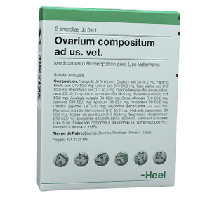 Homeopaticos-Ovarium-Comp.-Ad-Us.-Vet.-Cj.-5-Ampollas-X-5-Ml-Heel