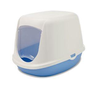 Arenera-para-Gato-iriz-starter-kit-42x31x12.5cm-color-azul-SAVIC-