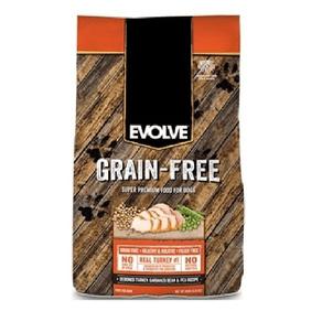 Concentrado-para-perro-Grain-Free-EVOLVE-Adultos-Todas-las-Razas-Hollistico-Pavo