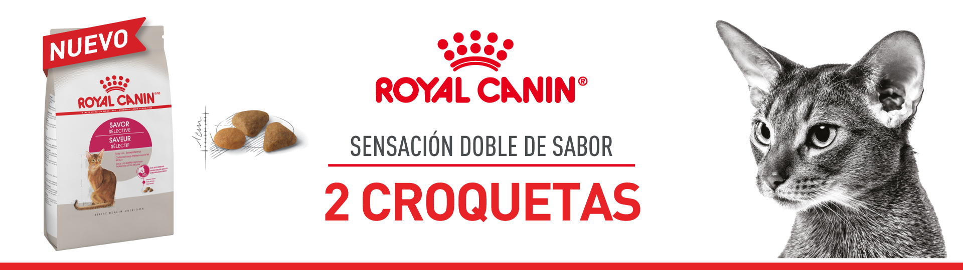 Royal Canin 2 croquetas