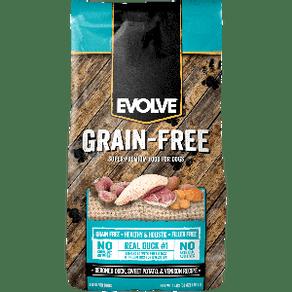 Alimento-Perro-EVOLVE-DOG-GRAIN-FREE-DUCK---PATO-1.81kg