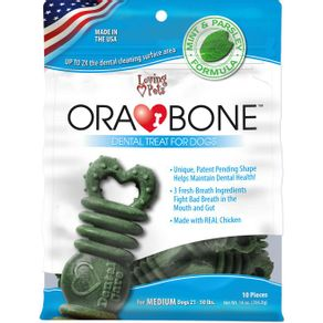 ORABONE-DOG-DENTAL-TREAT-14-OZ---BOLSA-MEDIUM-X-10-UNDS
