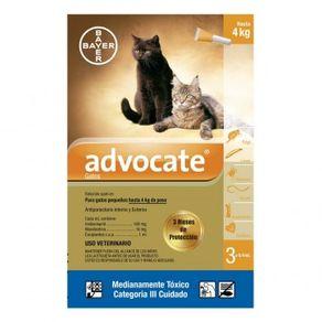 Antiparasitarios-Externos---Interno--Advocate-Gatos-Hasta-4-Kg-Bayer