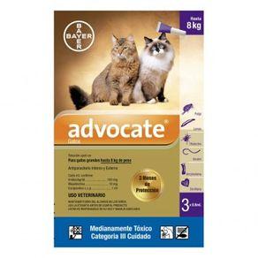 Antiparasitarios-Externos---Interno--Advocate-Gatos-Hasta-8-Kg-Bayer