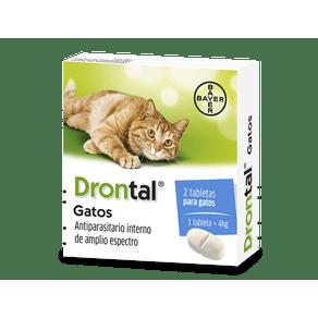 Antiparasitarios-Internos--Drontal-Gatos--Bayer