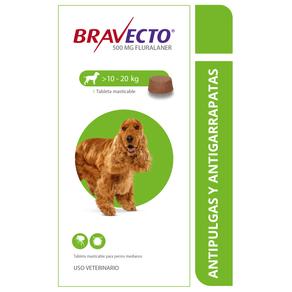 Antiparasitarios-Externos-Bravecto-Perros-10-20-Kilos-Msd-Salud