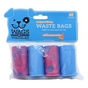 Bolsas-para-Perro-Wags---Wiggles-Bolsas-Plasticas-Desechos-4-Rollos-60-Und-Total-Sandia