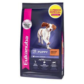 Comida-Perro-Eukanuba-Puppy-Medium-Breed-Nuevo