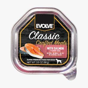 Alimento-Perro-EVOLVE-CLASSIC-BANDEJA-CRAFTED-MEALS-SALMON---3.5-OZ