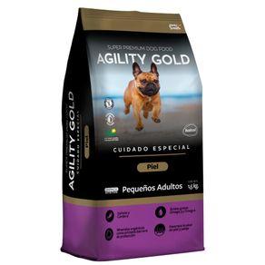 Alimento-Perro-Agility-Gold-Pequeños-Adultos-Piel-3Kg