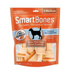 hueso-perro-SmartbonesFoto-1-SmartBones-Hueso-Mediano-Camote-x4
