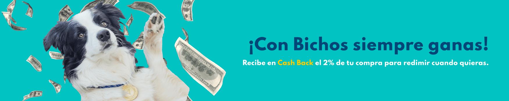 CASH BACK - PetShop Bogota